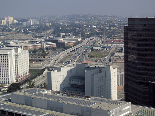 View Of US-101 From Los Angeles City Hall (2827)