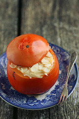 Mascarponetäidisega hurmaa / Stuffed persimmon
