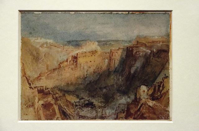 """""""Vue de Luxembourg"""" (William Turner - vers 1839)"""