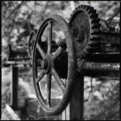 Stauwehr Getriebe