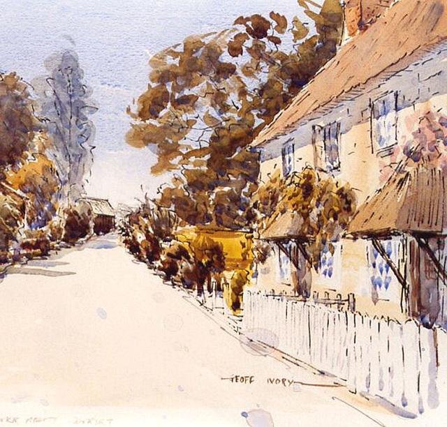 Stoke Abbott, Dorset - lieu de ma naissance