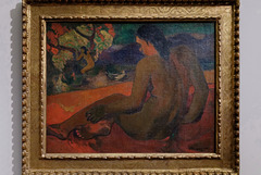 """Femme tahitienne"" (Paul Gauguin - 1898)"