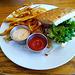 Black Bean Burger / The Farm Bistro