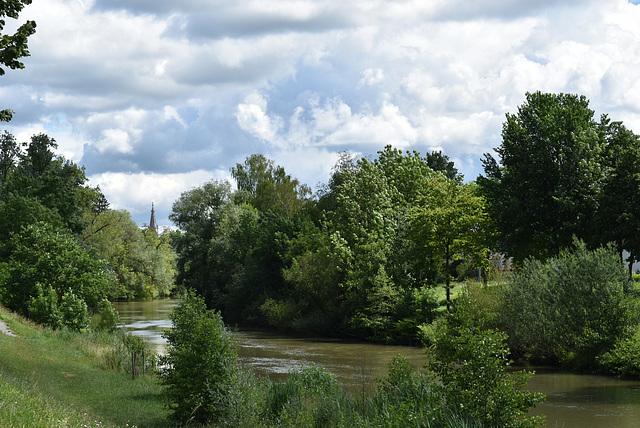 Der Neckar bei Rottenburg