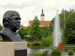 Bad Kötzting - Pfarrer Kneipp im Kurpark