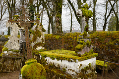 Saulieu, Cemitério verde.