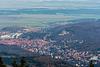 Blick auf Wernigerode vom Brockengipfel