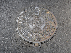 Plaque à Hyères (Var)