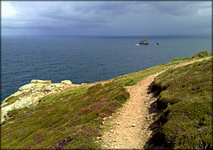South West Peninsula Coast Path, Cornwall (the last of the sun for the day!)