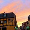 R comme ciel ROSE ORANGE à Colmar