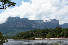 Venezuela, The Carrao River and the North-Western Spur of Auyantepui