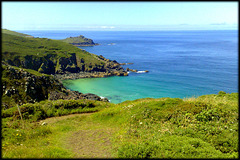 Gurnard's Head from the South West Peninsula Coast Path near Zennor Head