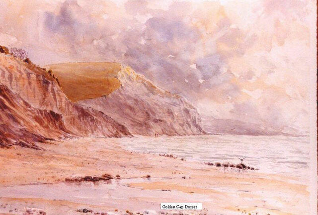Golden Cap, Dorset UK (70x50 cm)
