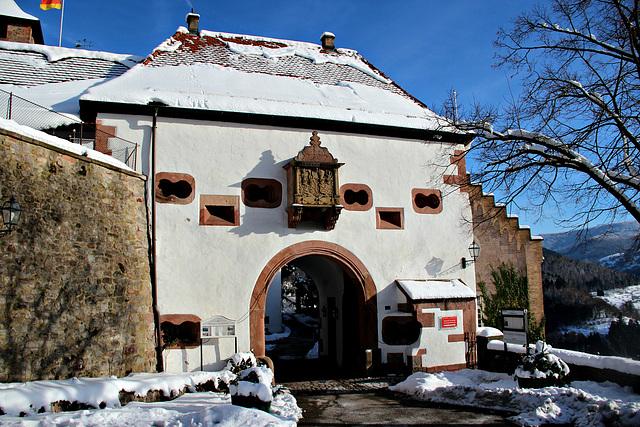 Schloß Eberstein Eingangstor