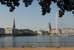 HFF from Hamburg: An der Binnenalster