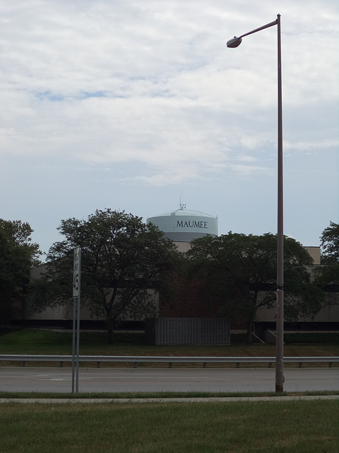 Château d'eau de l'Ohio / Ohio water tower