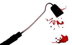 La binette sanglante