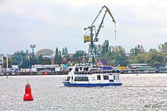 Wismar, Hafeneinfahrt
