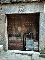 Old door. La Alberca, Salamanca Province.