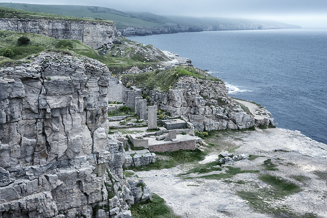 Mainly Broken - Rocks, Quarry and WW2 Reminds