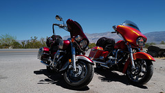 Death Valley, Motorbikes