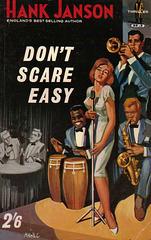 Hank Janson - Don't Scare Easy (Roberts & Vinter edition)