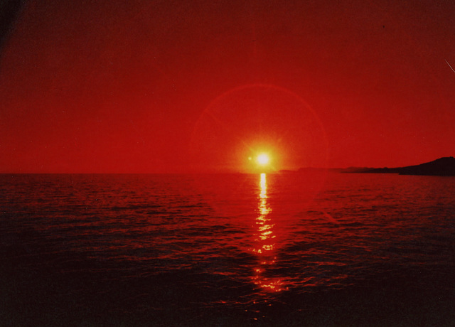 Red Scale Sunset