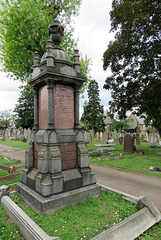 wandsworth cemetery, london