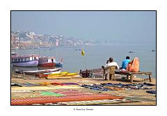 Petit matin cool sur le Gange