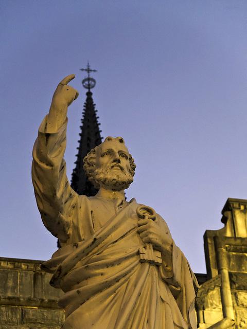Si vous voulez moi d'ouvrir la porte, suivre mon conseil - Lourdes, France