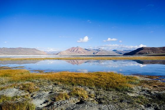Salt Lake of Ladakh
