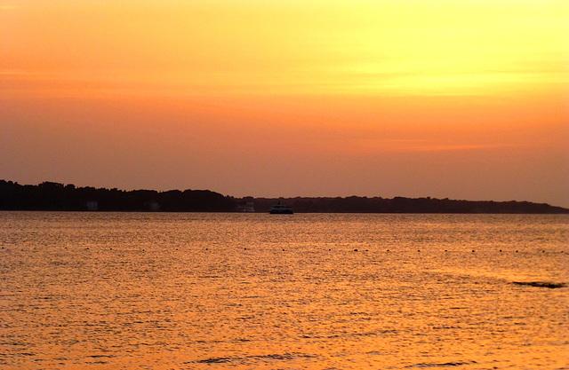 HR - Fažana - Sonnenuntergang