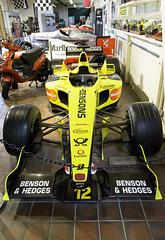 Team Jordan Formula One car; Brooklamds Museum