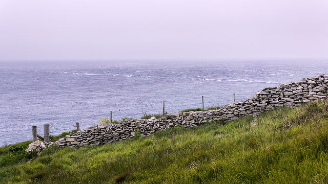 Wall, Fence and Sea