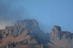 Kilimanjaro, Top of Mawenzi Peak (5149m)