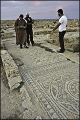 Mosaic pavement