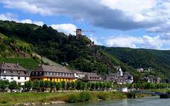 DE - Kaub - Blick vom Rhein