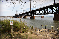 Train Bridge over the Susquehanna