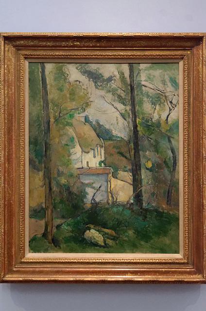 """""""Maison dans les arbres, Auvers"""" (Paul Cézanne - 1879)"""