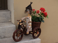 Biker (Somewhere on the streets of Eger)