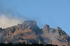 Kilimanjaro, Top of Mawenzi Peak (5149m) from Horombo Huts