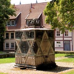 Das Synagogen-Denkmal in Hildesheim (3xPiP)