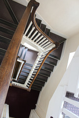 Service Stair, Kimbolton Castle, Cambridgeshire