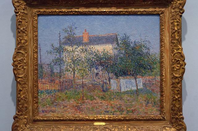 """""""La maison du garde-barrière"""" (Gustave Loiseau - fin 19e s.)"""