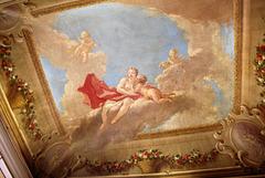 Giovanni Antonio Pellegrini ceiling of c1708, Kimbolton Castle, Cambridgeshire