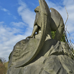 hampstead cemetery, london