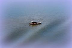 Solitude sur Halong Bay