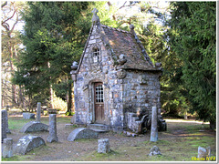 Little witch house in the forest?                                           No, it's Ste Geneviève's Chapel!