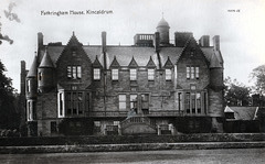 Fotheringham House, Kincaldrum, Angus, (Demolished)
