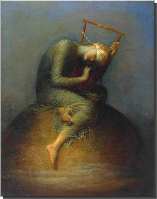 """Hope ""  by  George Frederic Watts"